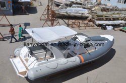 Opblaasbare Boot 830 van Hypalon van de Rib van Liya Militaire