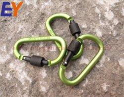 D альпинизма форма мини-плечевой лямки ремня безопасности крюк винт Carabiners плечевой лямки ремня безопасности