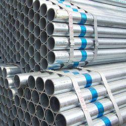 Q195, Q215, Q235, Q345 Les tuyaux en acier galvanisé pour la construction