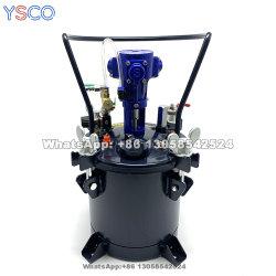 Serbatoio del recipiente di pressione dell'aria di verniciatura a spruzzo con miscelazione automatica YS