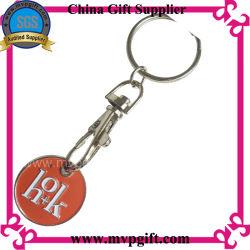 Kundenspezifische preiswerte Metallförderung-Laufkatze-Münzen-Schlüsselmarke