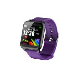 """1.3の""""カラーIPSの完全なタッチ画面のブレスレットIP67が付いている従来のポインターの指針板のスマートな腕時計の電話はPPG BpmのスポーツのBluetoothの腕時計を防水する"""