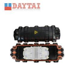 4포트 6 * 48코어 스플라이스 트레이 수평 288 코어 파이버 광섬유 스플라이스 폐쇄