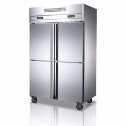 Acciaio inossidabile cheRaffredda un frigorifero dritto dei quattro portelli