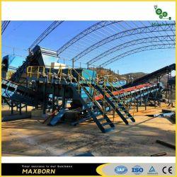 Msw Sortig Gestión de residuos de la planta de energía para la industria de reciclaje con el estándar de Europa