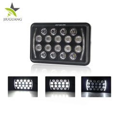 "54W Wholesale 12V 24 Volt Cars 5X6"" Pollici 4X6"" Jeep LED faro"
