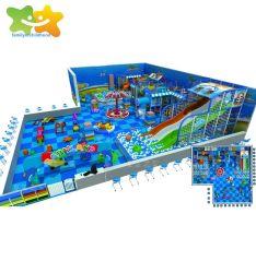 SGS de l'équipement commercial de certification Plaza Mall Kids Indoor Aire de jeux pour enfants