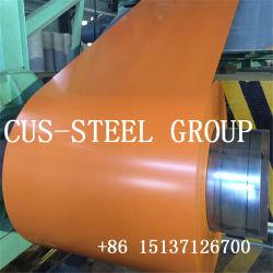 Ral8016主な品質の中国の工場ASTM PPGI Prepainted鋼鉄ロール