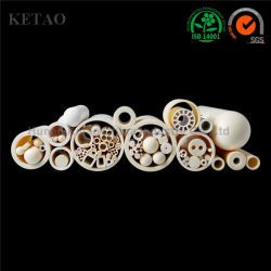 Tubo di ceramica dell'isolante del tubo C799 C795 C610 di protezione della termocoppia del tubo dell'allumina avanzata