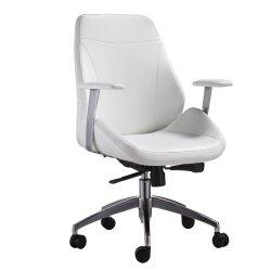 Mobilier de bureau ergonomique en cuir véritable de PU exécutif Boss chaise de bureau
