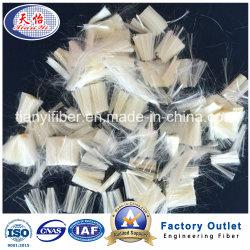 Haute résistance et l'alcool polyvinylique PVA haut module pour le béton armé de fibres