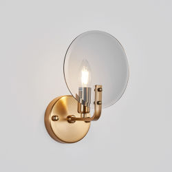 Lampada da parete a LED da comodino a candela Wick Design retro
