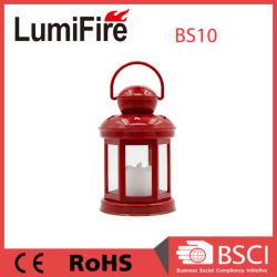 LED decorativas de Natal de plástico Furacão Lanterna de vela