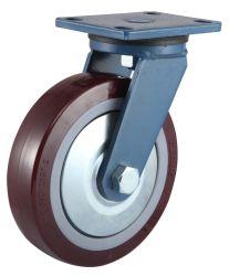 産業極度の頑丈な旋回装置PUの足車ロード1500kgs