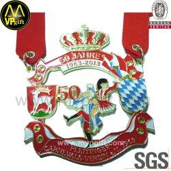 スポーツ賞のトロフィのメダルおよび円形浮彫りを競争させる予約された金属3D