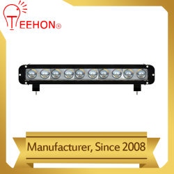 100W à LED Bande de barre d'éclairage automobile en aluminium avec lentille 4D