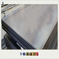 Feuille de tôle en alliage de fer laminés à chaud/plaque en acier/bobine/bande/Feuille, SPHC SS400 Plaque en acier noir