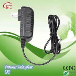 12V 2A LED/LCD/CCTV /Medical Support mural chargeur de batterie de voyage d'alimentation de l'adaptateur d'alimentation