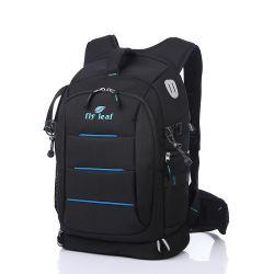 Большой потенциал двойного плечо профессиональная цифровая зеркальная фотокамера рюкзак сумка (CY5871)