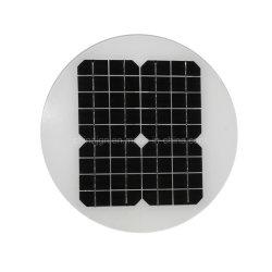 9Wモノクリスタルケイ素の太陽電池パネルのガラス太陽電池パネル