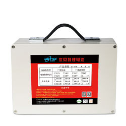 Nachladbare hohe bewegliche Batterie der Kapazitäts-24V 30ah mit BIS