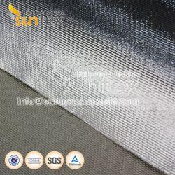 L'isolation thermique ignifuge la preuve de l'eau conduit d'Air Flexible réfléchissant la chaleur tissu d'aluminium