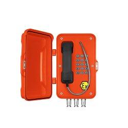 Analogique ou RTPC téléphone antidéflagrant, Atex Téléphone pour l'extraction souterraine