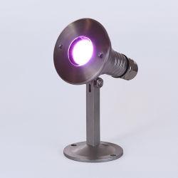 Pi68 3W Marine LED Projector debaixo de conexão de Luz