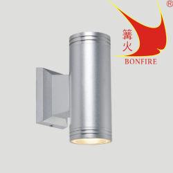 二重ランプのホールの屋外の照明工場のための小さい壁ライト