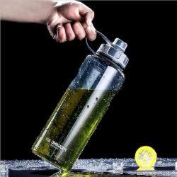 Bouteille d'eau en plastique PC Fitnessgenius Verre Bouteille bouteille d'eau vélo 1000ml biberon sans BPA