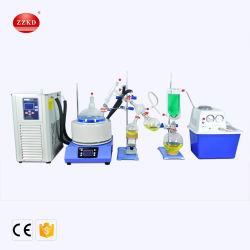 Lab rápido y eficiente equipo de destilación de corto recorrido