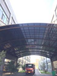 Policarbonato transparente com revestimento UV Crystal em policarbonato transparente de telhados