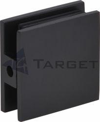 Abrazaderas de cristal de vidrio de Hardware a la pared (GC00-B1 negro)