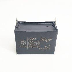 Alta tensione Cbb61 20UF 250 V. Condensatore CA condensatore motore CA