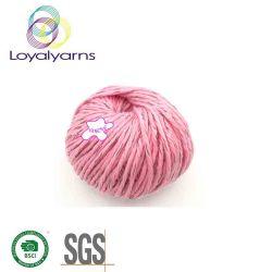 Filato acrilico/riflettente di alta qualità della fibra per il lavoro a maglia della sciarpa Ly-A310