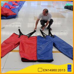 Diseñado Aoqi Three-Legged inflable traje de salto doble carrera