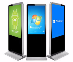3D LCD 広告表示広告表示広告表示広告プレーヤー 43 インチ CCTV モニタ