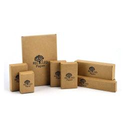 Imprimir tamaño personalizado embalaje de cartón ondulado de color marrón de envío