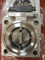 Valvola a farfalla rotonda di vuoto del piatto di rendimento elevato per il radiatore del trasformatore