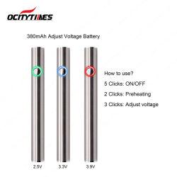 Passthrough van het Voltage van Vape Ecig van de Olie van Cbd Veranderlijke Batterij
