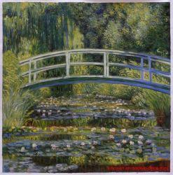 Monet artesanais pinturas a óleo reproduções para decoração de paredes