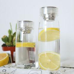 Fles van het Water van de Sport van Borosilicate van de Levering van Eco drinkt de Vriendschappelijke Snelle, de Fles van het Water met Fles van het Water van de Filter van de Thee de Duidelijke