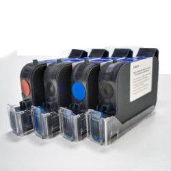 Cartucce d'inchiostro a base di solvente Faith Black, nero, a base di acqua per stampante Tij Fast Cartuccia a inchiostro a secco 2588 a colori nero ad asciugatura rapida