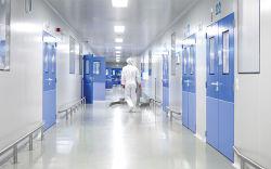 2020 Acier PPGI PU/laine de roche/EPS panneau sandwich pour salle blanche modulaire personnalisées pour les produits pharmaceutiques chambre propre avec la norme ISO