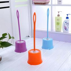 長いハンドルのホールダーの世帯のクリーニングのプラスチック浴室の洗面所のブラシセット