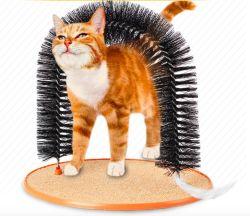 각자 손질해 애완 동물은 아치를 공급해 장난감 PVC 연약한 고양이 출입문 Scratcher를 긁어 고양이를 완화한