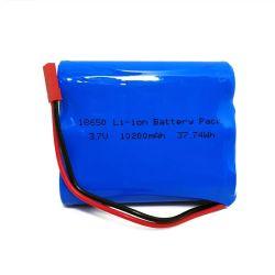 Аккумулятор 3,7 10,2 ah размера 18650, изготовленный на заказ<br/> 1s3p 3,6 10AH литий-ионный аккумулятор