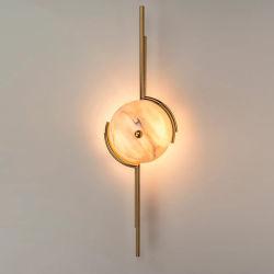 فيلات رخامية بيضاء حديثة ستير مصباح جدار مخفوق فى براس إطار للمنزل