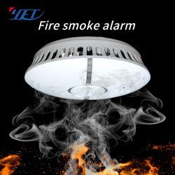 3V Batterie autonome détecteur de fumée d'alarme incendie
