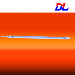 De enige Infrarode Lamp/de Verwarmer/de Zender van de Korte golf van de Buis van het Kwarts voor Industrie van de Druk